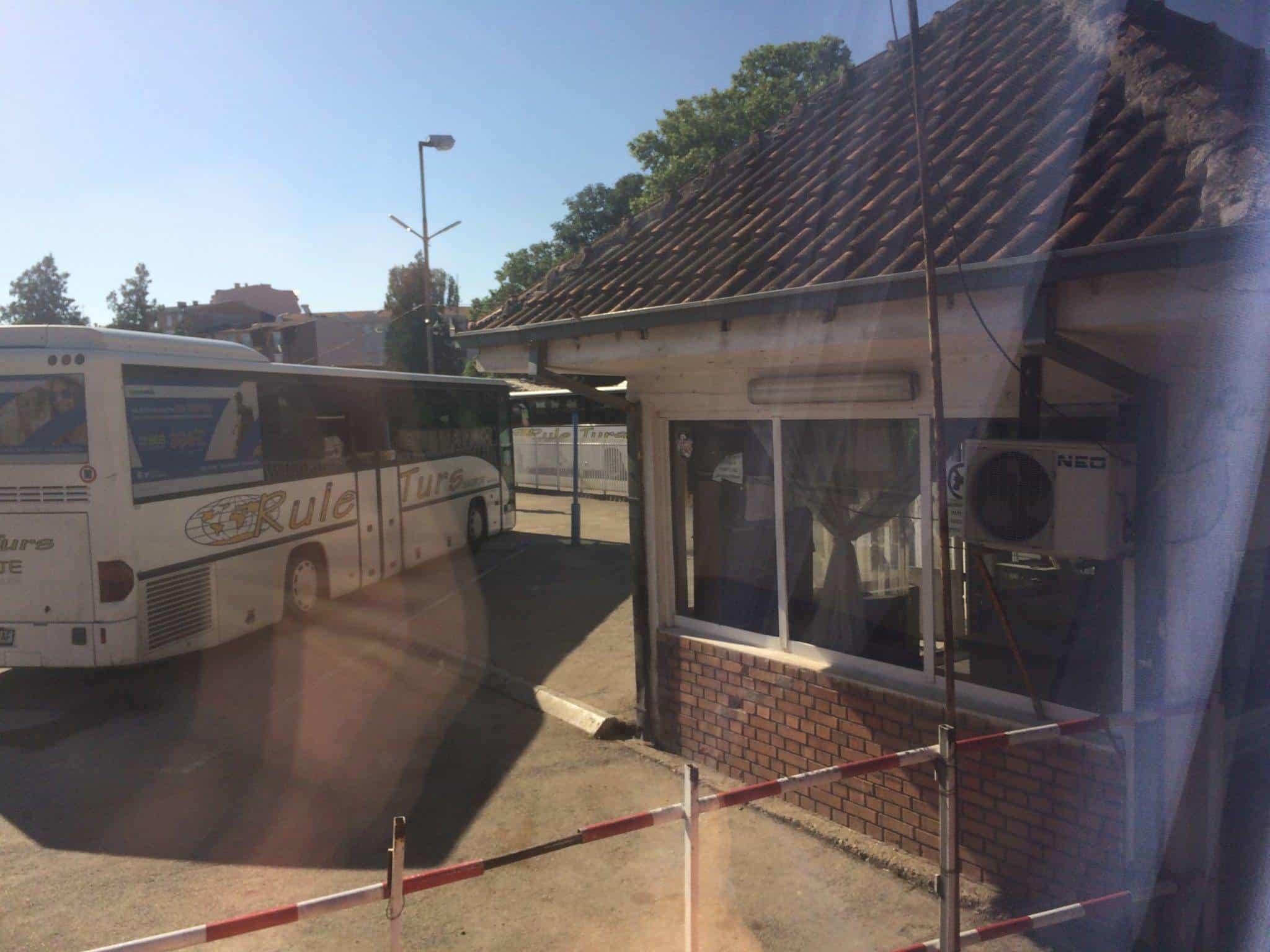 Entering the Kumanovo Bus Station