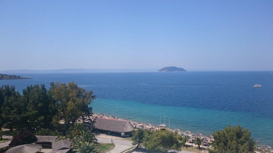 View at Porto Carras Sithonia Hotel.