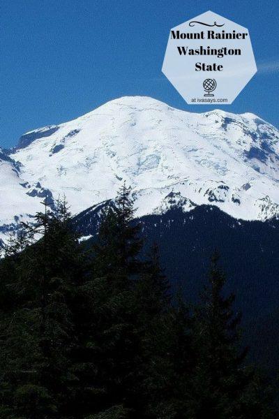 Visiting the beautiful Washington state and Mount Rainier - Iva Says