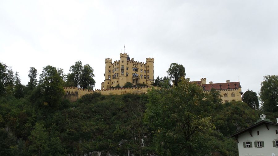 The German Castle Hohenschwangau.