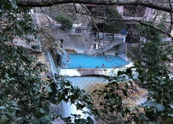 The Loutra Pozar Thermal Baths In Northern Greece