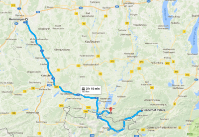 Our trip from Memmingen to Ludwig's Castles