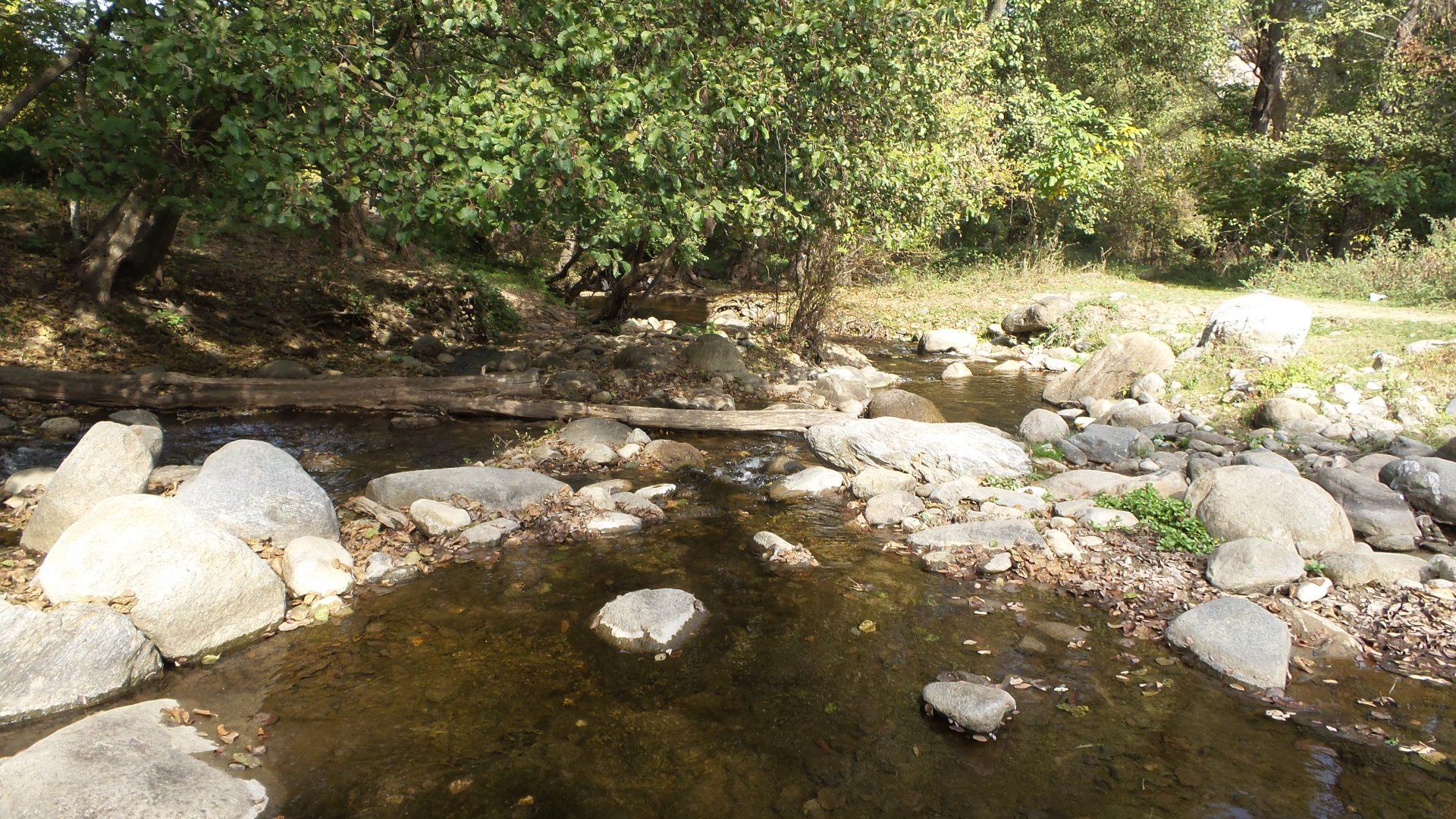 River by Marko's Monastery