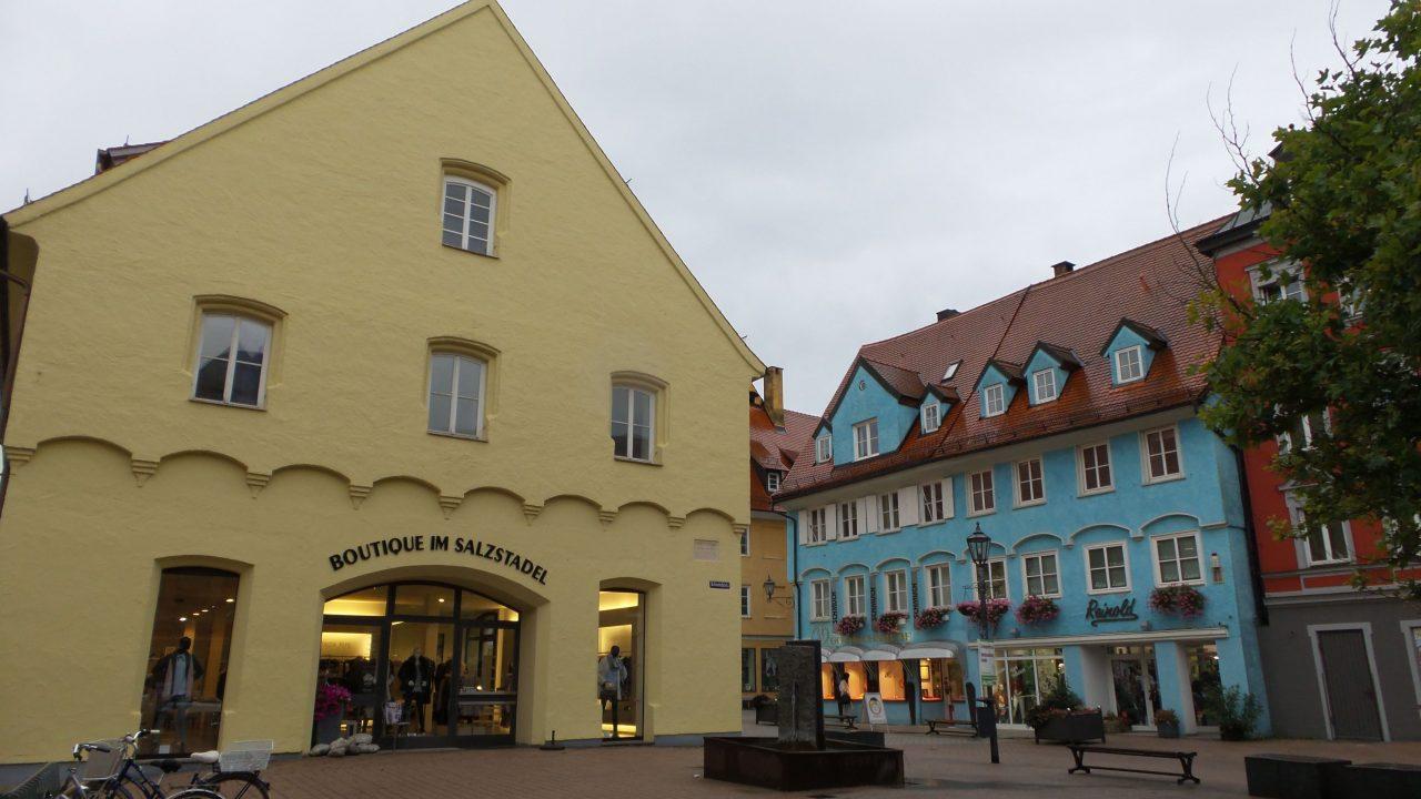 Traditional Houses in Memmingen near Drexel's Parkhotel