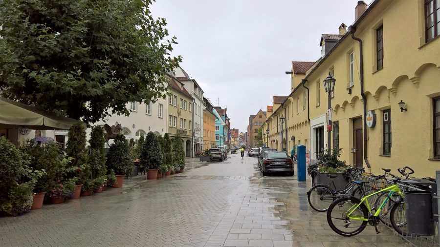 "Altstadt ""The Old Town"" of Memmingen, Germany"