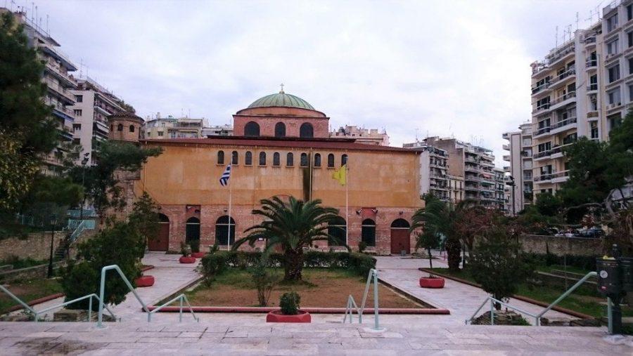 Hagia Sophia church in Greece.