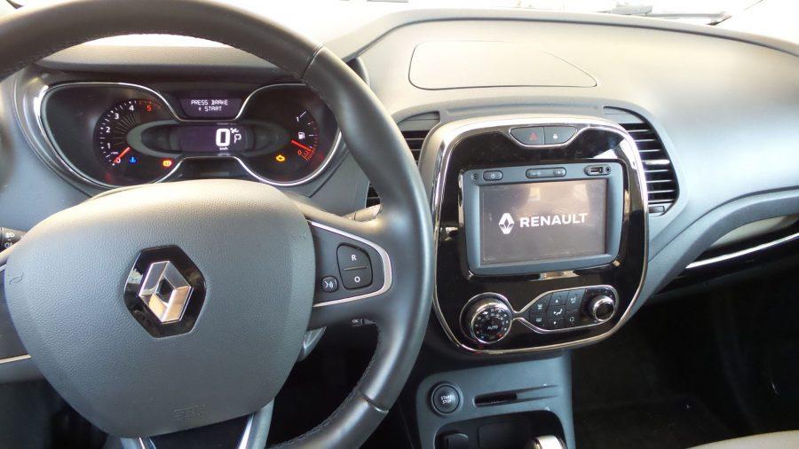 Dashboard of Captur Renault 2016
