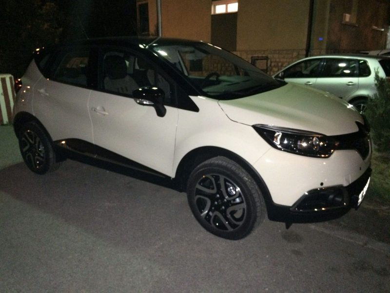 Side view of the Captur