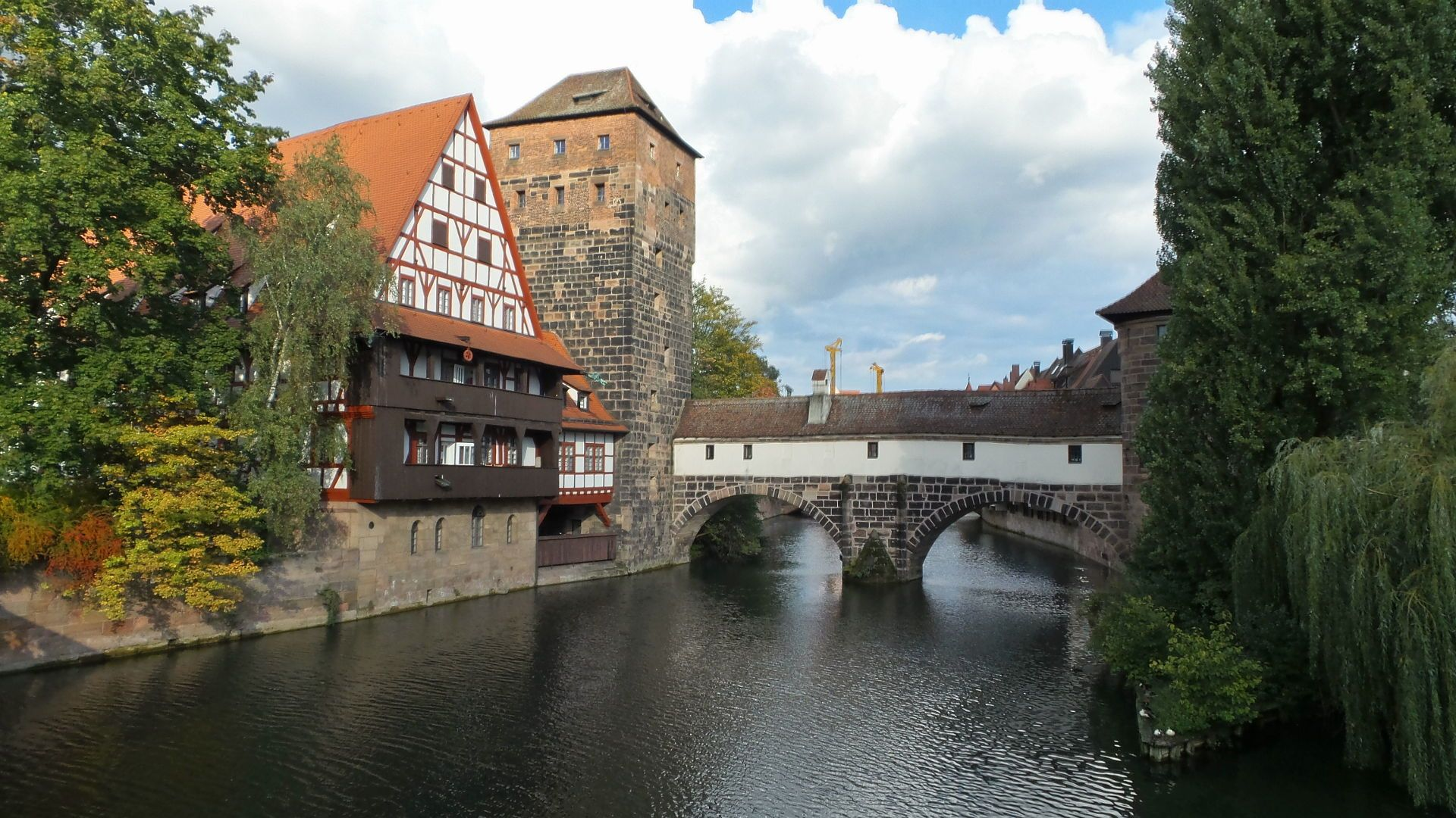 Weinstadel in Nuremberg Germany