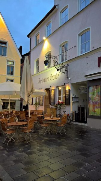 Zur blauen Traube restaurant in Memminge, Germany