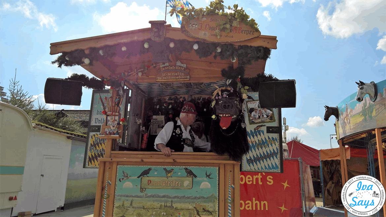 Interesting Shop Stand at Oktoberfest