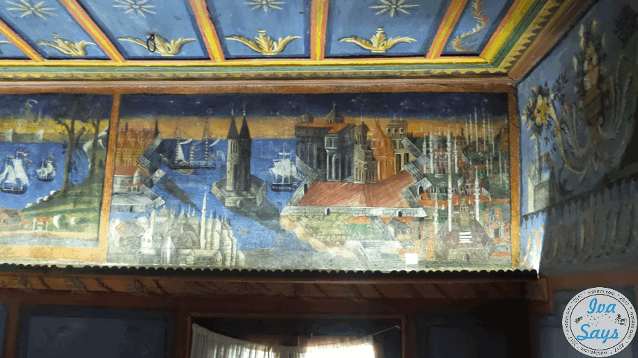The blue room in the House of Valyanova