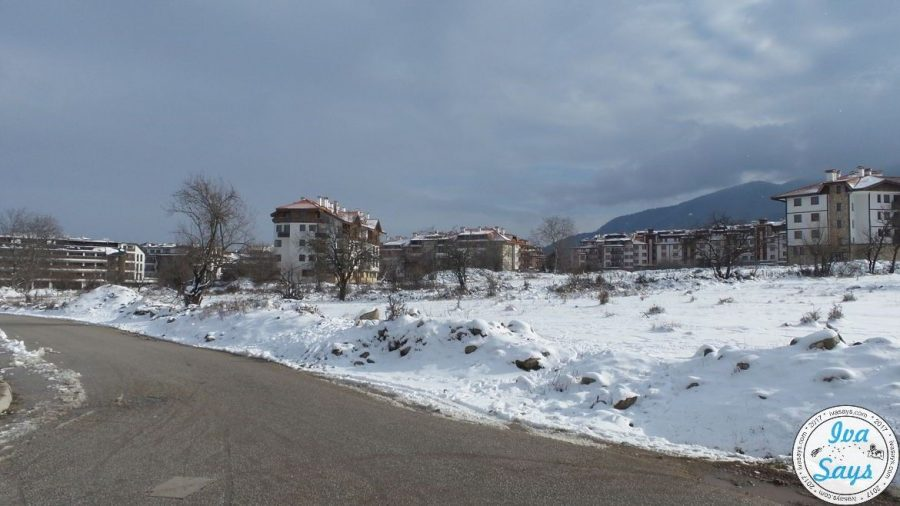 The surrounding area around St. George Ski and Spa Hotel in Bansko, Bulgaria