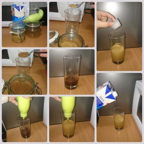 Instructions how to make a Frape (with pictures) - Iva Says