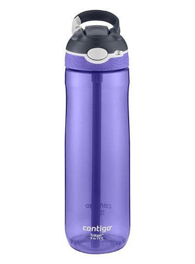 Travel gear deals under 25 - Contigo AUTOSPOUT Straw Ashland Water Bottle