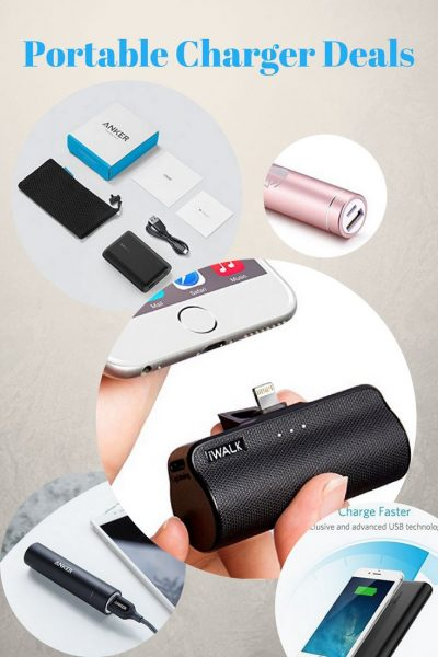 Portable Charger Deals on Amazon from Iva Says   Travel accessories   Travel Gear   Traveling   Bucket List   Shopping