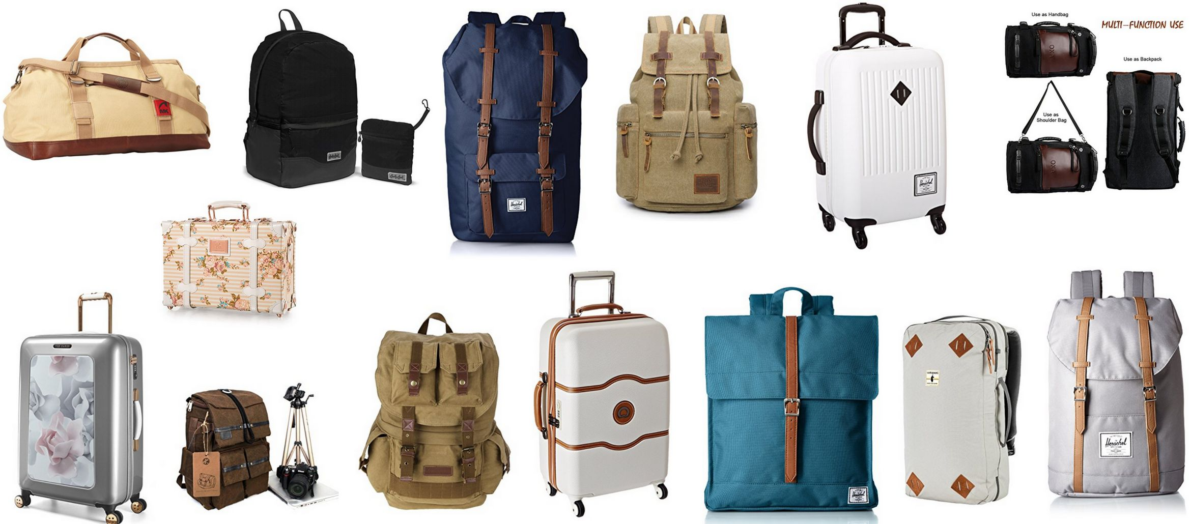 Travel Bags Deals for Every Traveler
