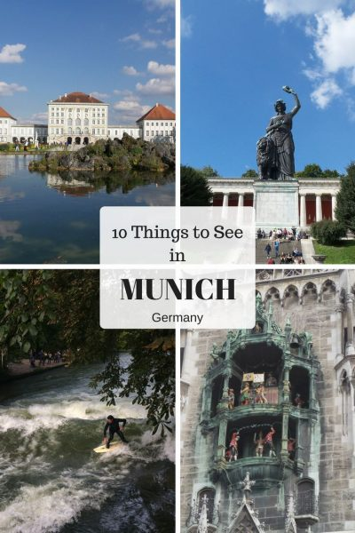 10 Best Sights to see in Munich, Germany. Things to see in Munich, Germany when short on time.