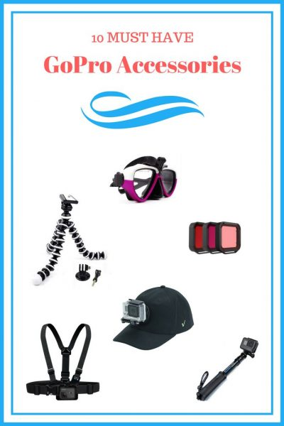 The ultimate 2018 GoPro accessories to purchase for your Hero 6, Hero 5, or Hero 4 action camera. From mountain biking, snowboarding, to underwater filming, don't miss the perfect shot. Get these awesome GoPro accessories now!