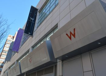 Reviewing a one night stay at the W Hoboken Hotel on the waterfront of the Hudson River in Hoboken, New Jersey overlooking the New York City skyline.