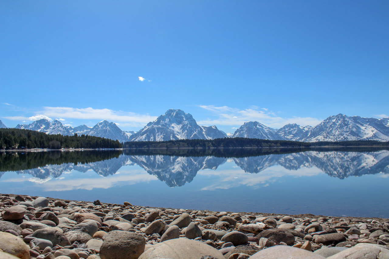 Colter Bay in the Grand Teton National Park