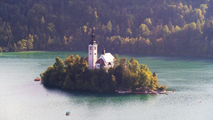 Lake Bled in Bled, Slovenia