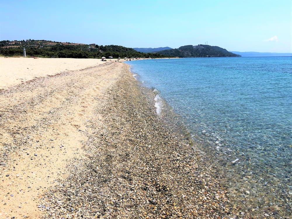 Traveling through the Balkans: Possidi Beach, Greece
