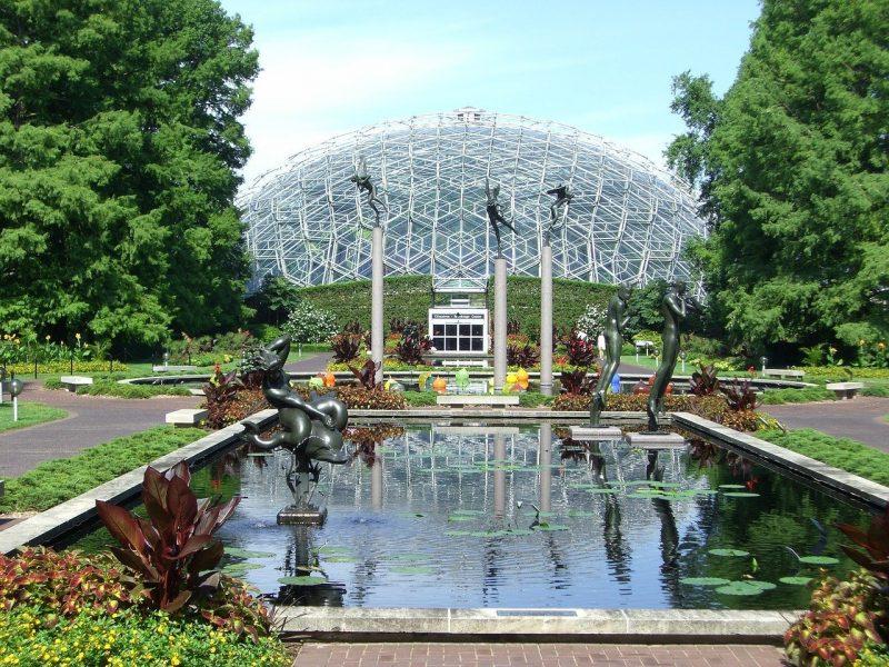 Botanical garden in St. Louis, MO.