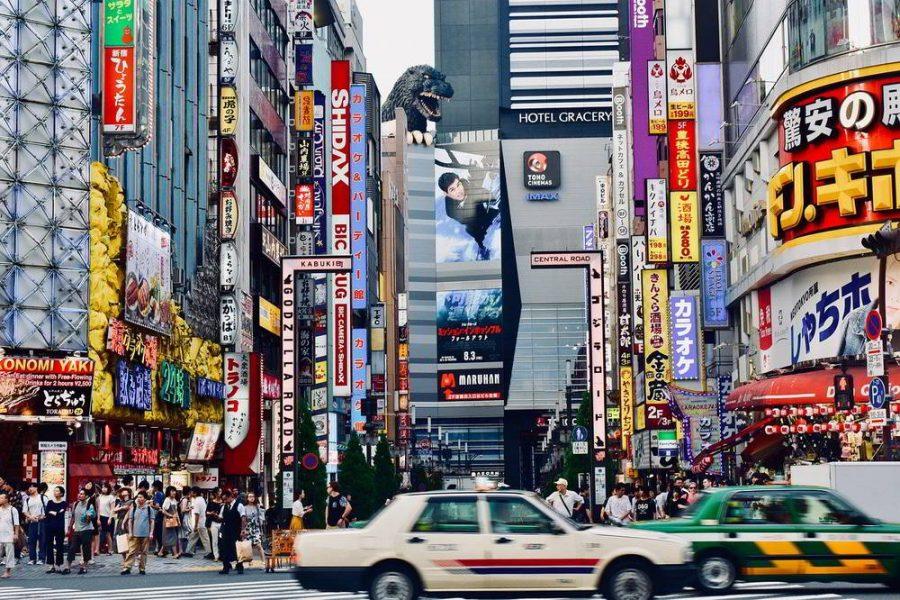 May travel destination - Tokyo, Japan.