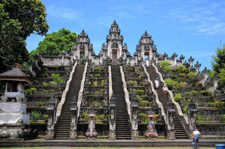 Ancient temple in Bali