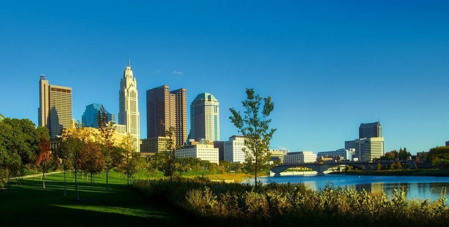 Skyline view of Columbus, Ohio