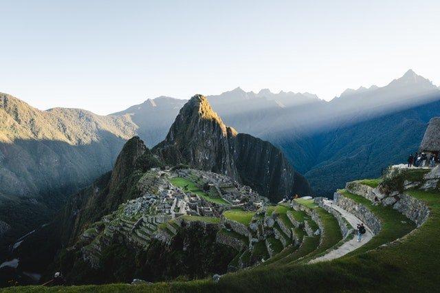 Ancient temple site in Peru.