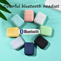 Bluetooth Wireless Headphones with Charge Case for Travelers in Circle