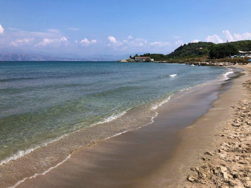 Sandy Agios Spiridon Beach