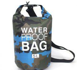 5L sky blue waterproof bag