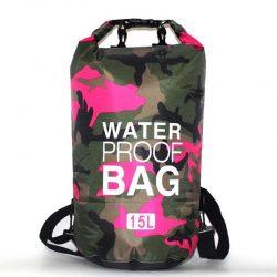 15L pink waterproof bag