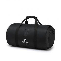 Men's black waterproof travel bag