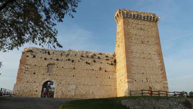 Castello Della Villa - Romeo's Castle in Italy.