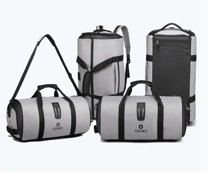 Multi-carry design travel bag mens