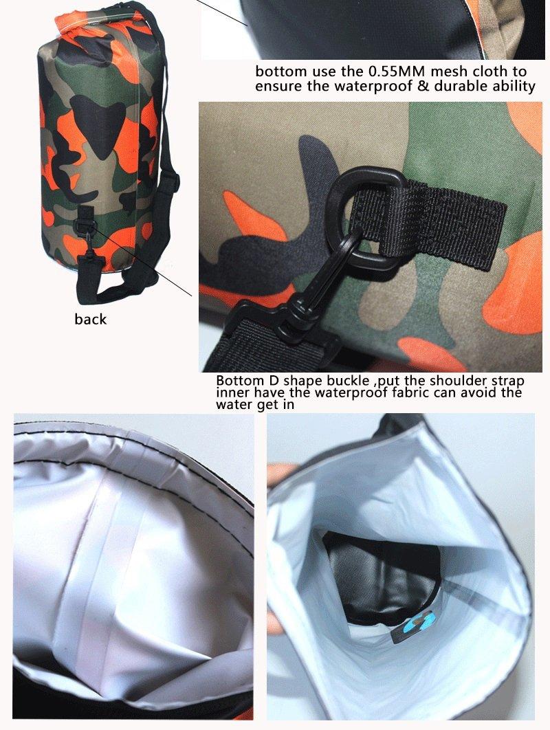 Camo waterproof backpack