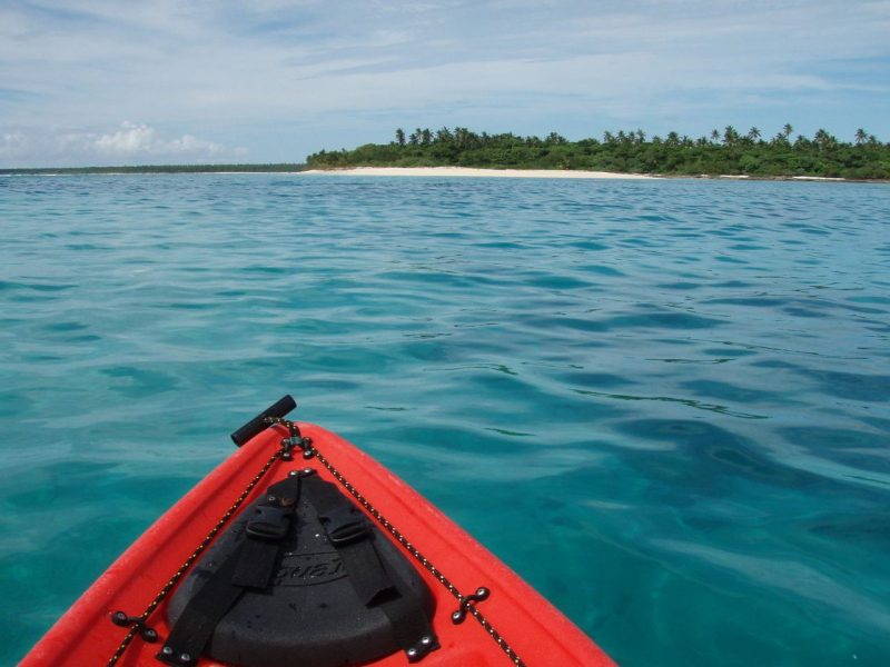 Kayak at Tonga Island.