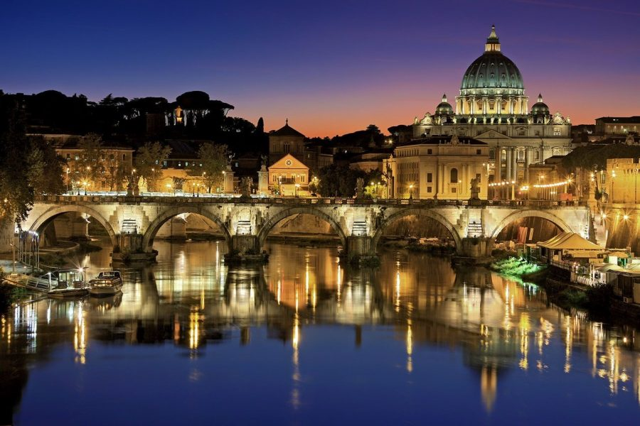 Rome Italy Romantic Getaway Cupid Day