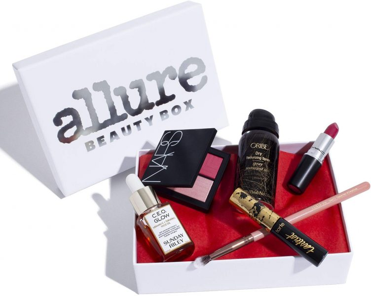 Allure beauty box Luxury Beauty and Makeup Subscription Box