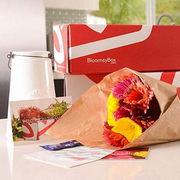 BloomsyBox - subscription box for valentine's day flowers.