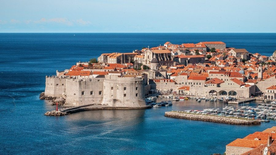 Romantic getaway in Dubrovnik, Croatia.