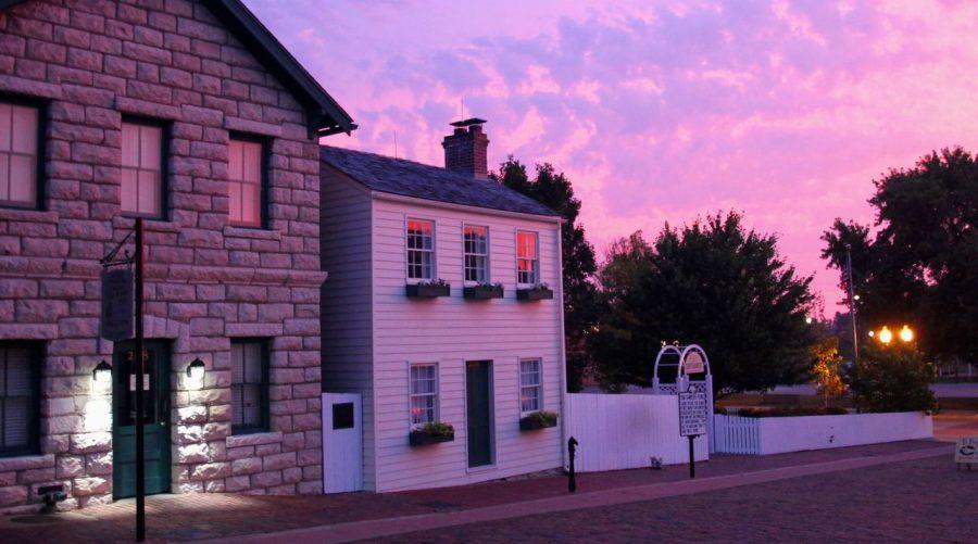 Sunset in Hannibal Missouri