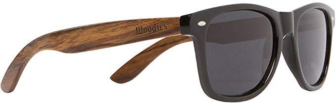 Woodies wooden sunglasses.