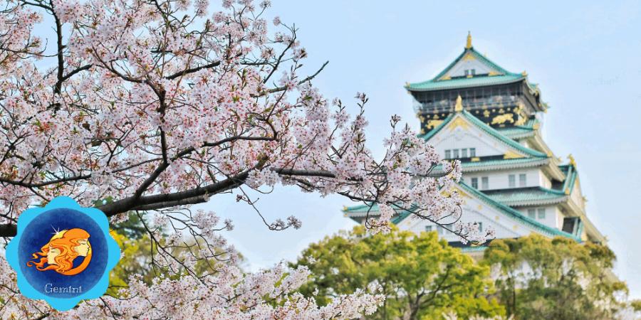 Japan travel destination for Gemini.
