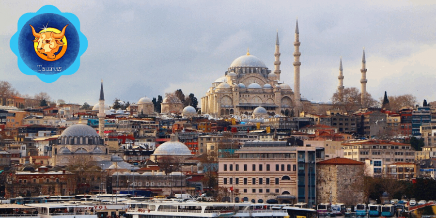 Istanbul Turkey Travel Destination for Taurus Travel Horoscope