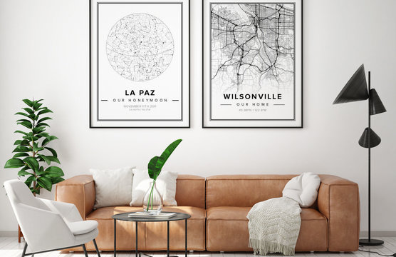 Mapiful travel wall decorations